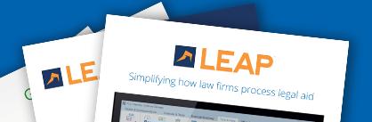 download brochures leap legal software